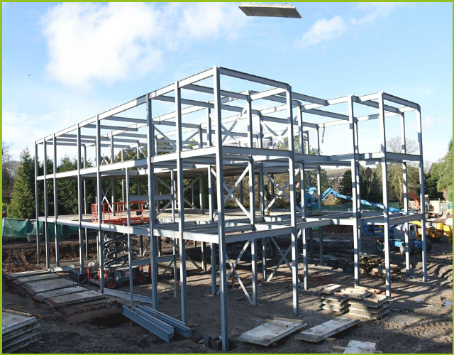 walker engineering structural steel services